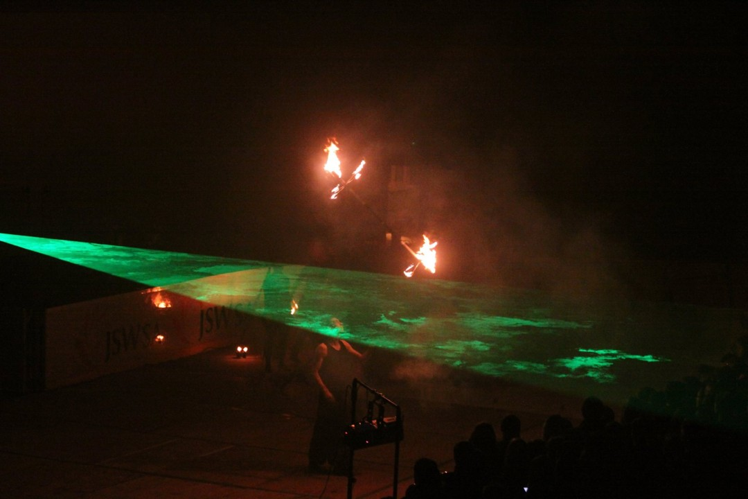 Największe fireshow – ogień, pirotechnika, lasery