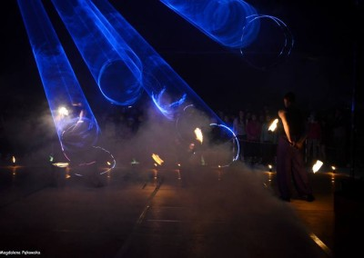 lasery i fireshow
