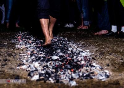 chodzenie po ogniu