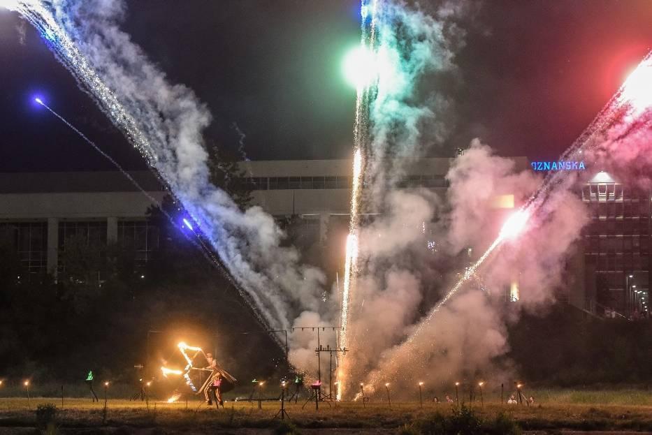 Największy pokaz ognia w Poznaniu!