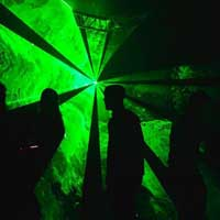 Rodzaje pokazów laserowych